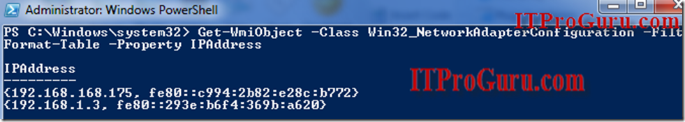 powershell_IPAddresses