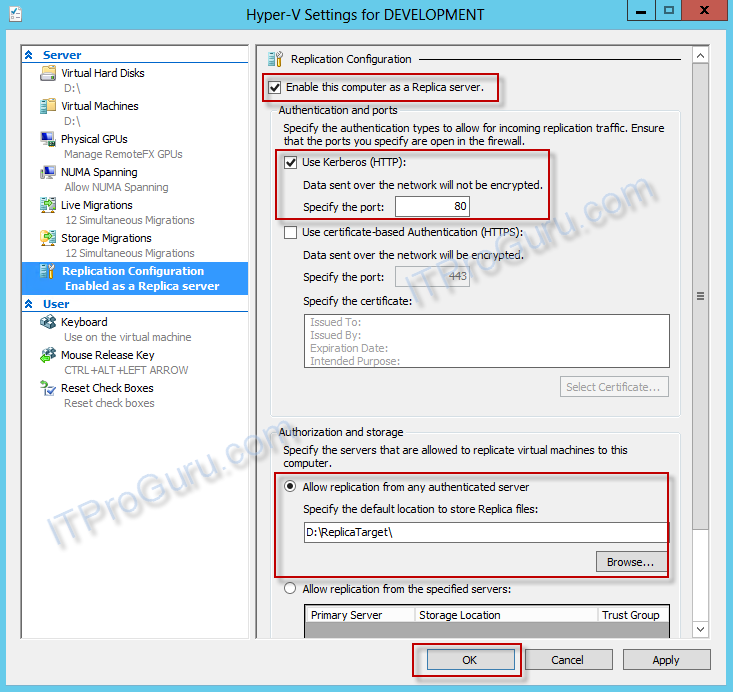 Hyper-V Replica Step-By-Step #VirtExpert Virtualization Experts