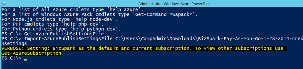 Install Windows Azure PowerShell Cmdlets Step-By-Step