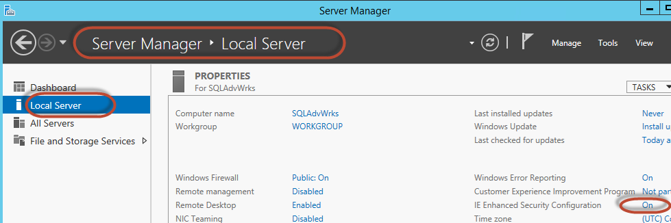 Deploy SQL Server 2014 VM on Azure Cloud and Configure with