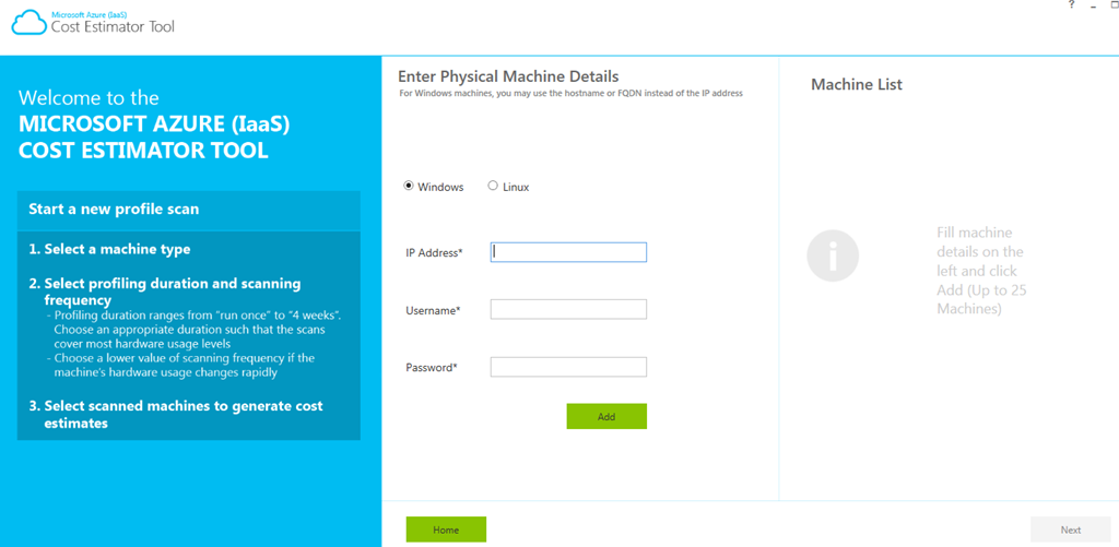 awesome tool estimating costs for migrating workloads to azure