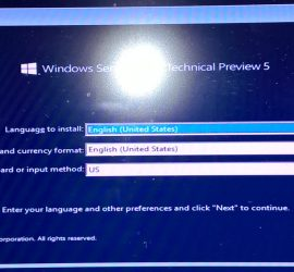 Windows2016Install01