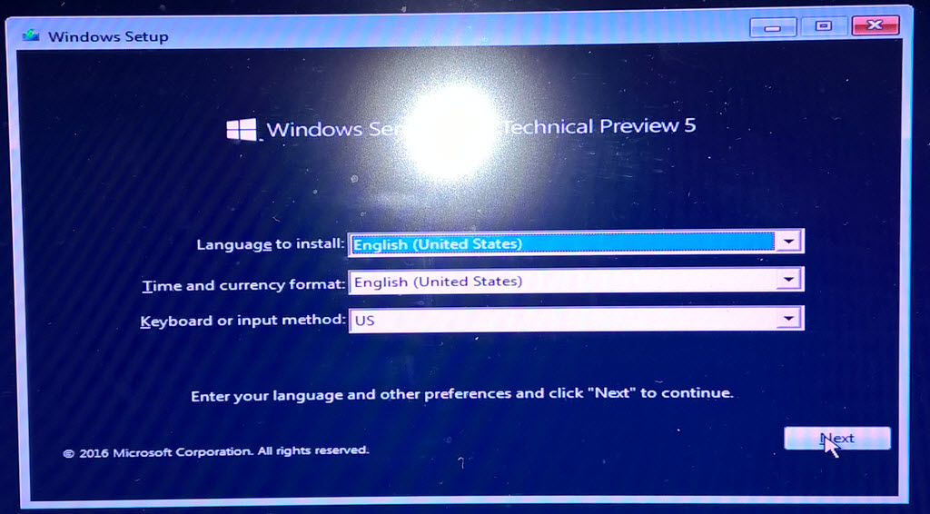 Installing Windows Server 2016 on Bare Metal Step-By-Step