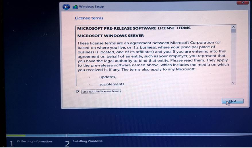 install windows server from usb iso