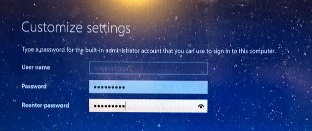 windows server 2016 evaluation change key