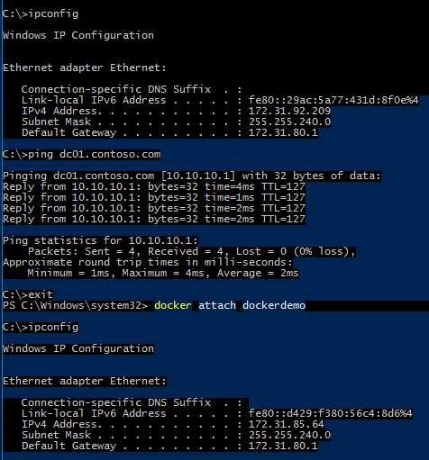 Lab Guide Working with Containers on Windows 10–Includes Docker and